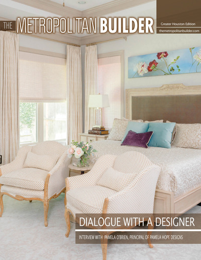 Metropolitan Builder - Dialogue with a Designer - Dialogue with a Designer - Pamela O'Brien