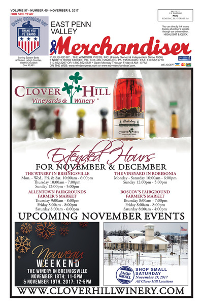 East Penn Valley Merchandiser - Nov 8, 2017