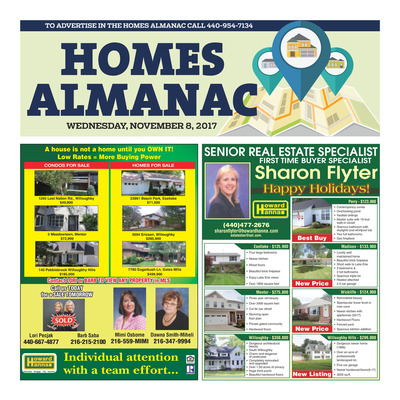 News-Herald - Special Sections - Homes Almanac - Nov 8, 2017