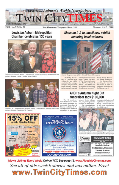 Twin City Times - Nov 9, 2017