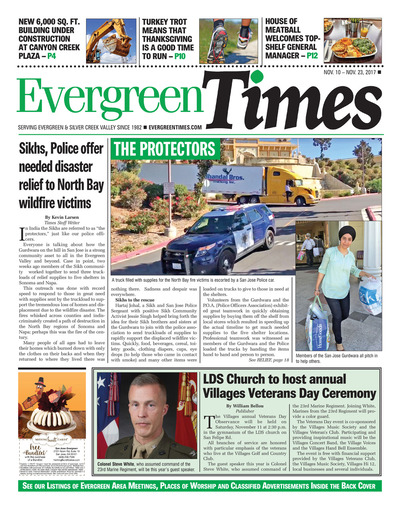 Evergreen Times - Nov 10, 2017