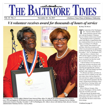 Baltimore Times - Nov 10, 2017