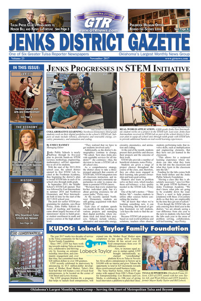 Jenks District Gazette - November 2017