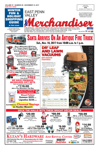 East Penn Valley Merchandiser - Nov 15, 2017