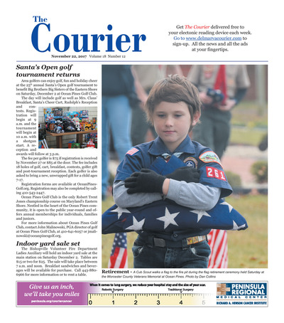 Delmarva Courier - Nov 22, 2017