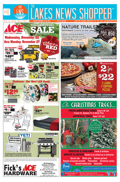 Lakes News Shopper - Nov 21, 2017