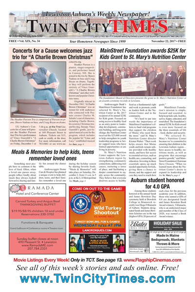 Twin City Times - Nov 22, 2017