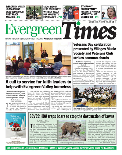Evergreen Times - Nov 24, 2017