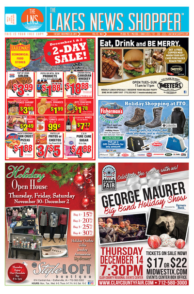 Lakes News Shopper - Nov 28, 2017