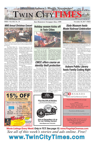 Twin City Times - Nov 30, 2017