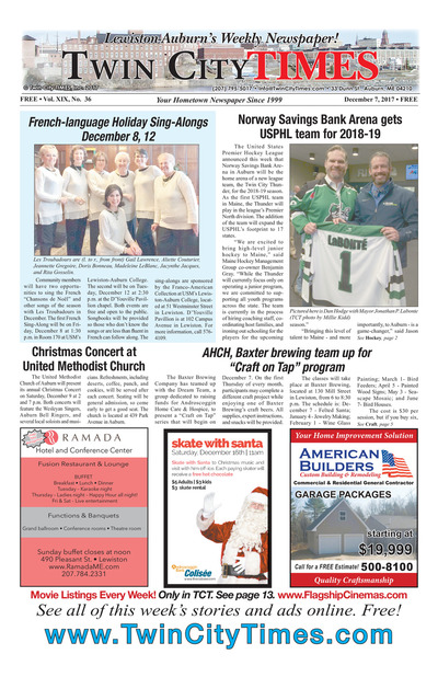 Twin City Times - Dec 7, 2017