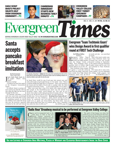 Evergreen Times - Dec 8, 2017