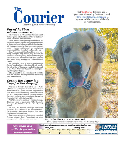 Delmarva Courier - Dec 13, 2017