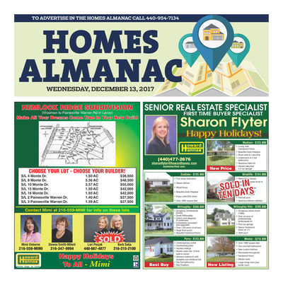 News-Herald - Special Sections - Homes Almanac - Dec 2017