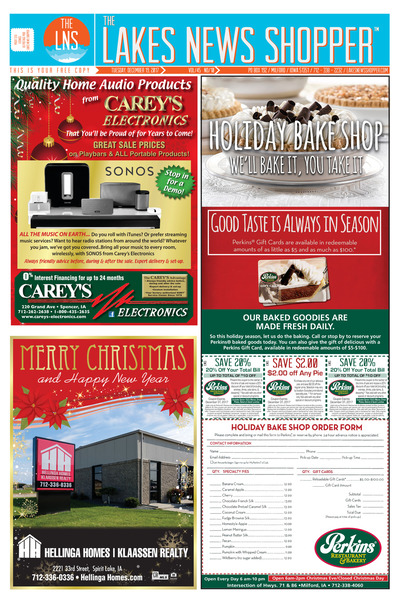 Lakes News Shopper - Dec 19, 2017