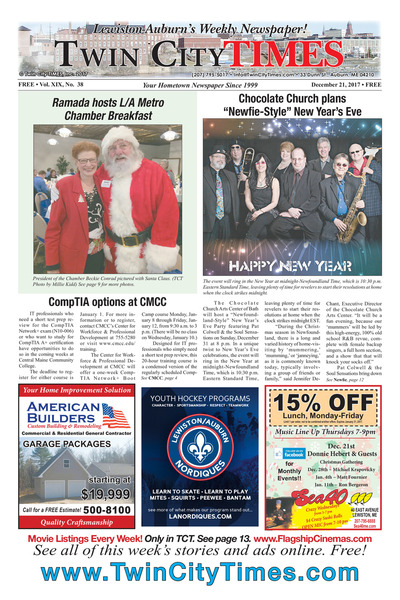 Twin City Times - Dec 21, 2017