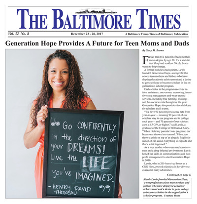 Baltimore Times - Dec 22, 2017