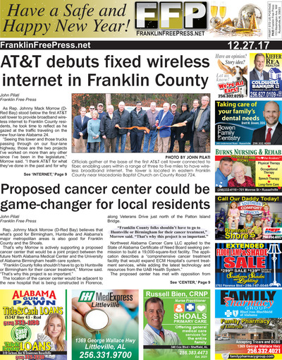Franklin Free Press - Dec 27, 2017