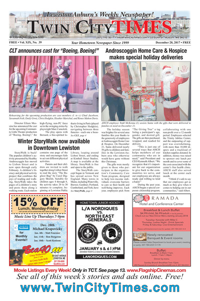 Twin City Times - Dec 28, 2017
