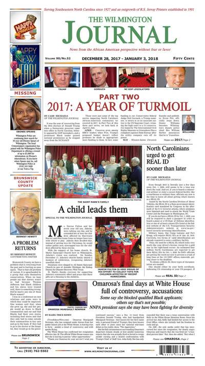 Wilmington Journal - Dec 28, 2017