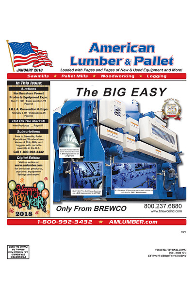 American Lumber & Pallet - January 2018