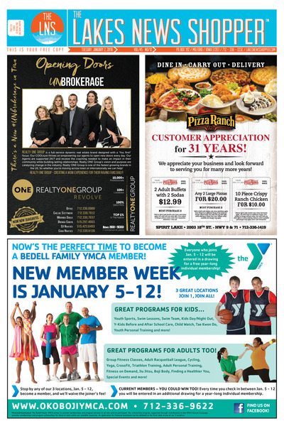 Lakes News Shopper - Jan 2, 2018