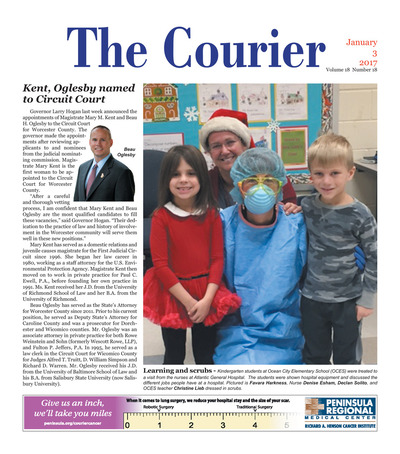Delmarva Courier - Jan 3, 2018