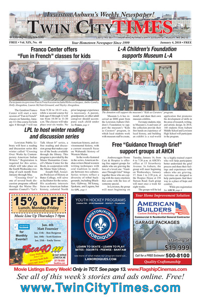 Twin City Times - Jan 4, 2018