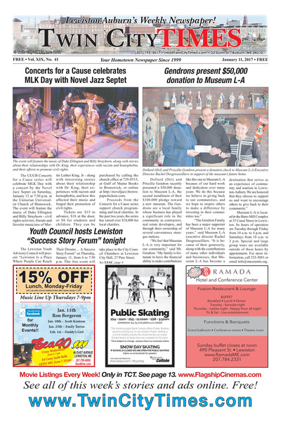 Twin City Times - Jan 11, 2018