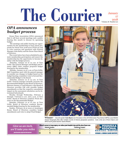 Delmarva Courier - Jan 17, 2018