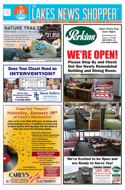 Lakes News Shopper - Jan 16, 2018