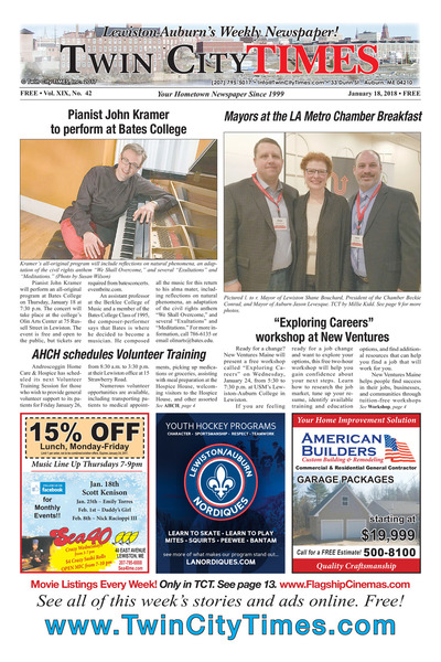 Twin City Times - Jan 18, 2018