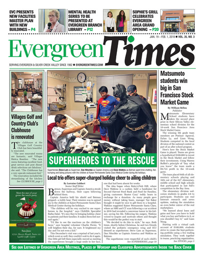Evergreen Times - Jan 19, 2018