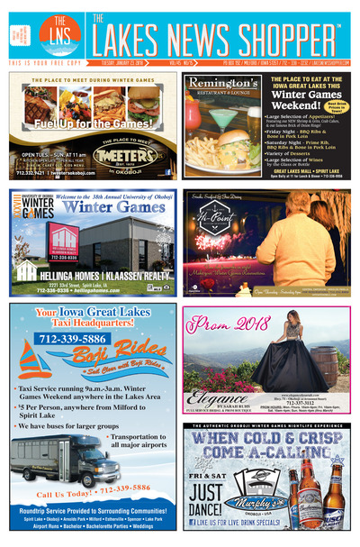 Lakes News Shopper - Jan 23, 2018