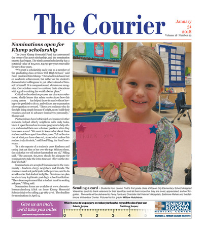 Delmarva Courier - Jan 31, 2018