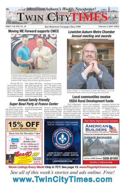 Twin City Times - Feb 1, 2018