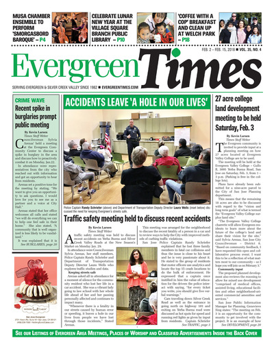 Evergreen Times - Feb 2, 2018