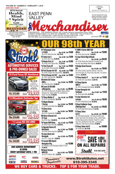 East Penn Valley Merchandiser - Feb 7, 2018