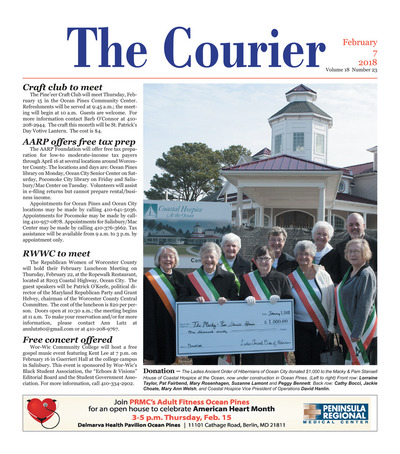 Delmarva Courier - Feb 7, 2018