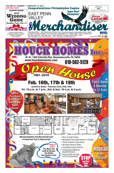 East Penn Valley Merchandiser - Feb 14, 2018