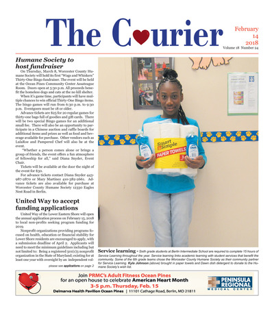 Delmarva Courier - Feb 14, 2018
