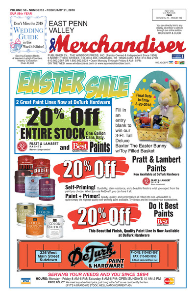 East Penn Valley Merchandiser - Feb 21, 2018