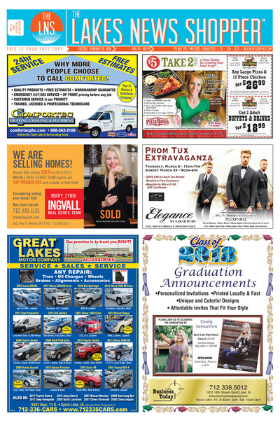 Lakes News Shopper - Feb 20, 2018