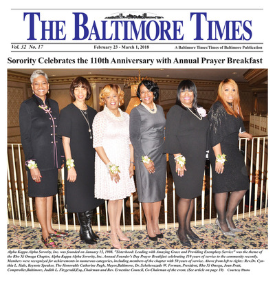 Baltimore Times - Feb 23, 2018