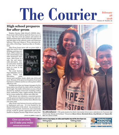 Delmarva Courier - Feb 28, 2018