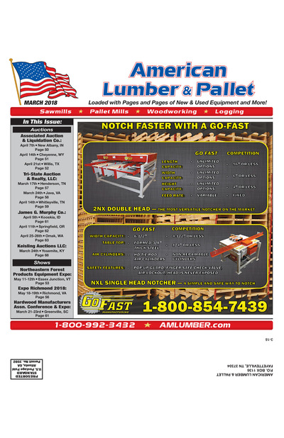 American Lumber & Pallet - March 2018