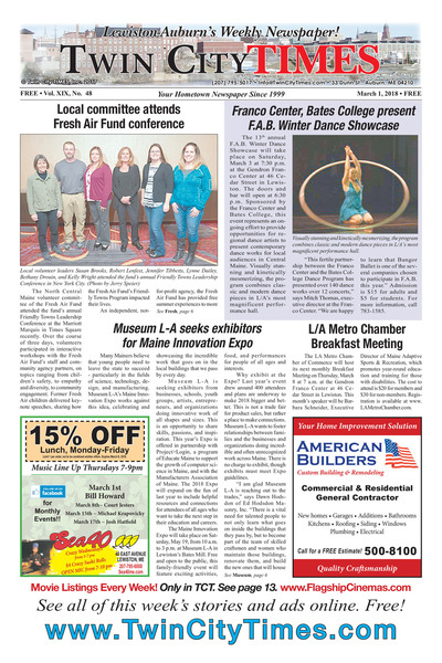 Twin City Times - Mar 1, 2018