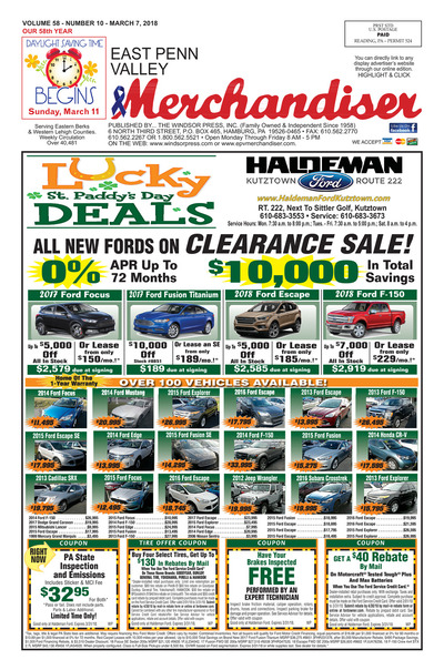 East Penn Valley Merchandiser - Mar 7, 2018