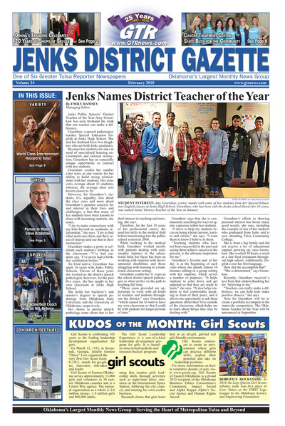 Jenks District Gazette - February 2018