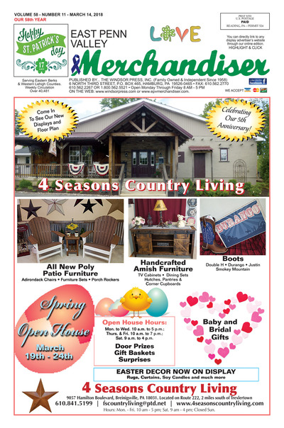 East Penn Valley Merchandiser - Mar 14, 2018